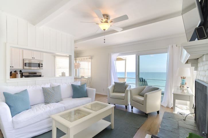 Suite 3 ~ Oceanfront Malibu Beach