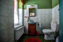 Łazienka w Zielonym Zakątku