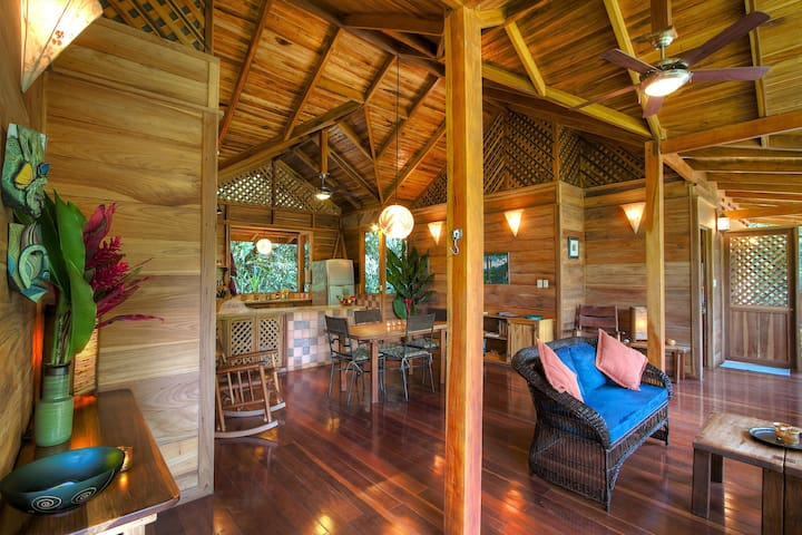 Enjoy the freedom of open air living at Casa Bromelia.