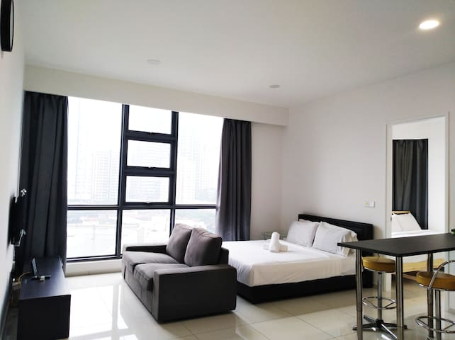 Golden Homestay Family Suite Robertson KLCC View