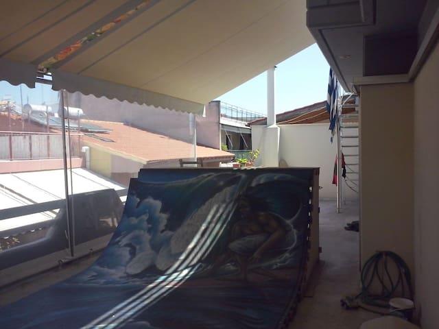 Skate house surf house