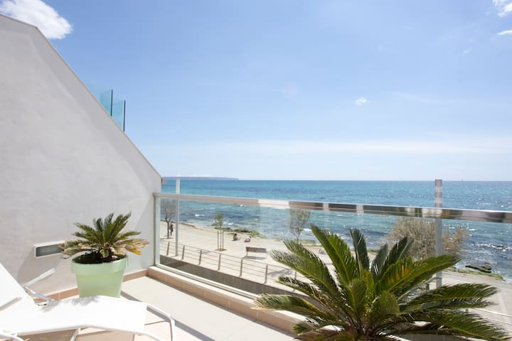 Top apartment design first line sea - Palma de Maiorca