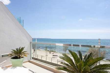 Top apartment design first line sea - Palma de Mallorca