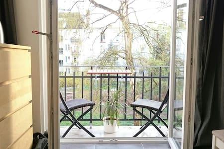 Ruhig gelegenes Zimmer mit Balkon - Hamburg