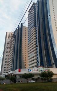 Flat novo muito confortável, Excelente Localização - Goiânia