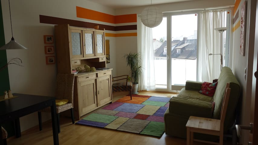 sunny apartment with big balcony - Krems an der Donau - Lejlighed