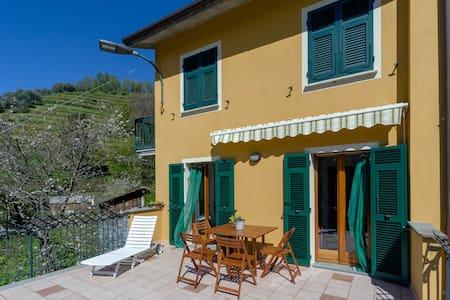 Rustico bei Chiavari (10 km Meer) - Wohnung