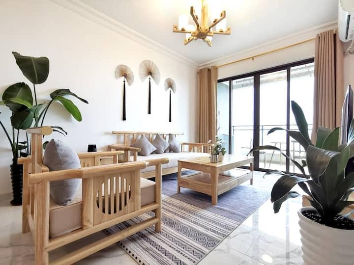 【喃夏】十里银滩日式全海景两室一厅