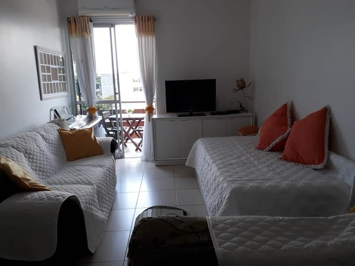 Wide flat with two double rooms two bathroom