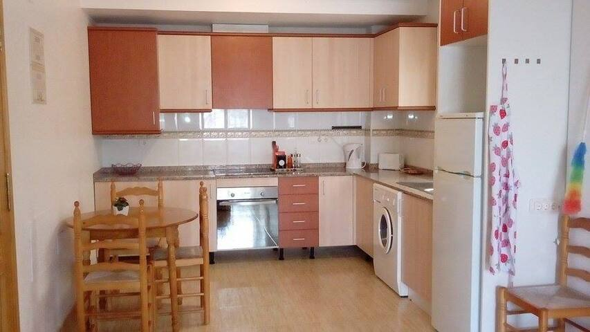 Cosy apartment in genuine Spanish village
