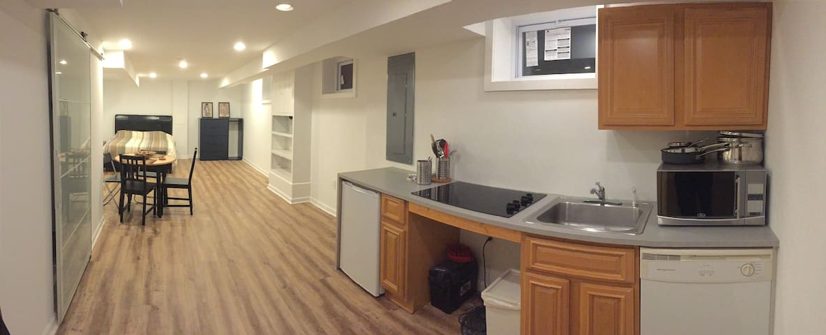 Newly Renovated Private Apartment in DC!