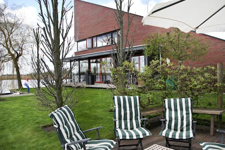 Watervilla Bed,Brood en Bootje - Leeuwarden - Bed & Breakfast