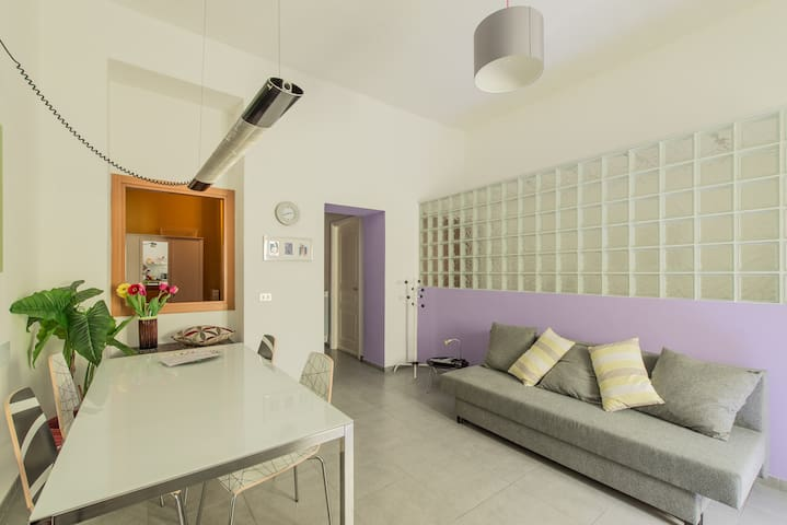 Nice Flat Close to Centrale FS - M1 - Milán - Departamento