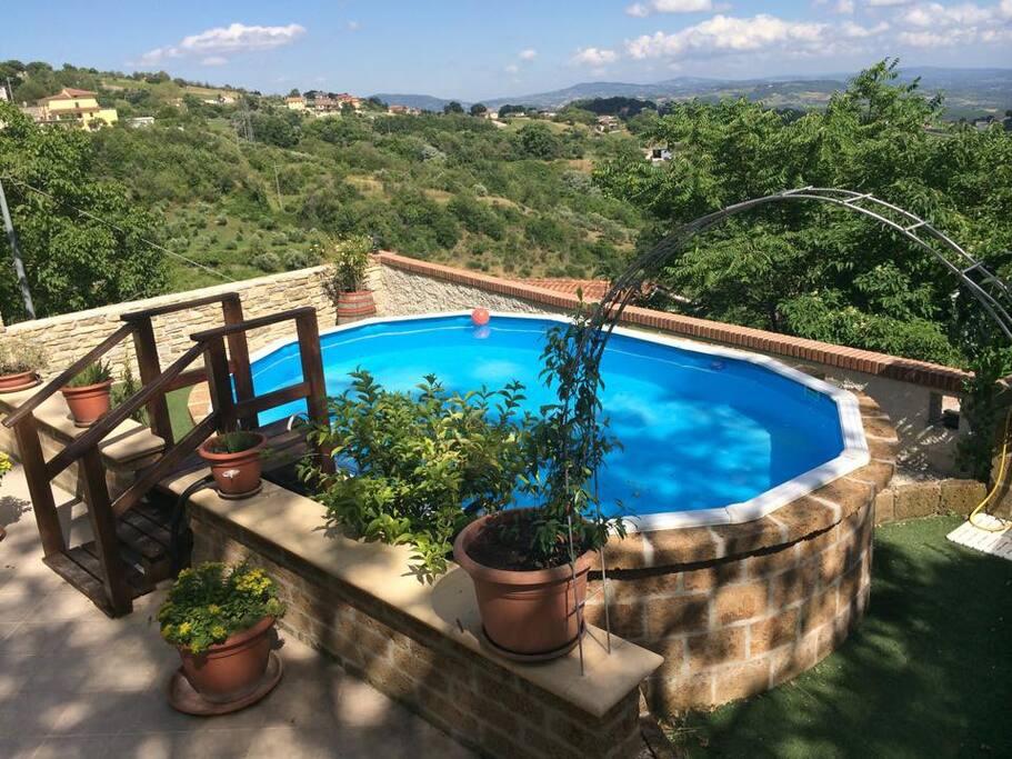 piscina relax, solarium