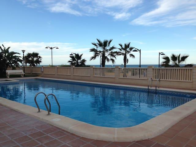 Apartamento primera linea de playa - Guardamar de la Safor