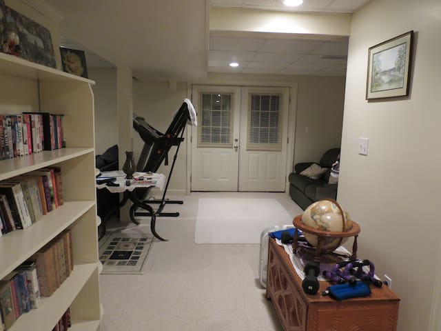 Private room in finished basement - Danville