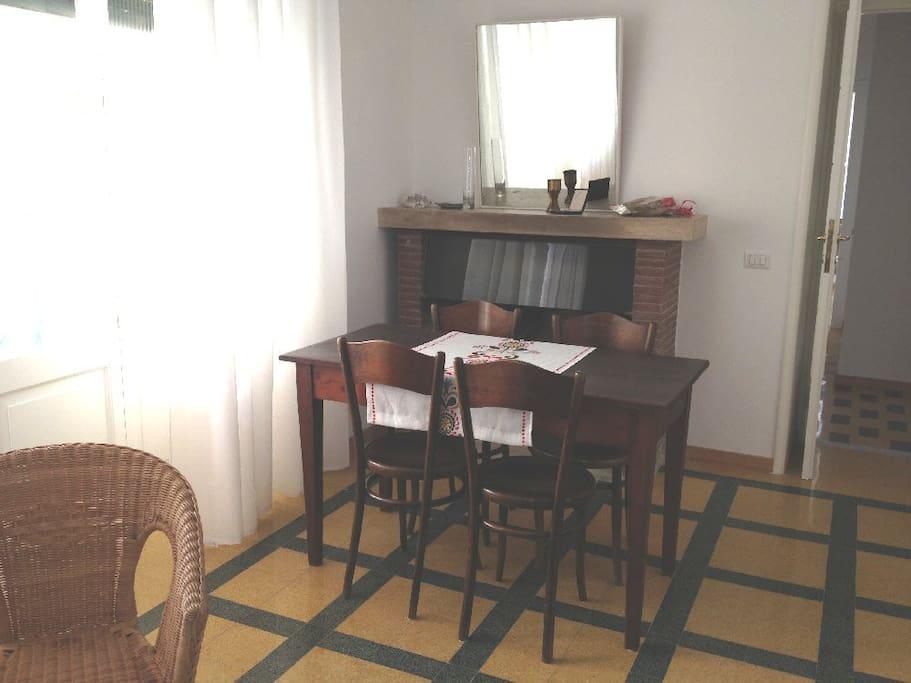 dining room - sala da pranzo-