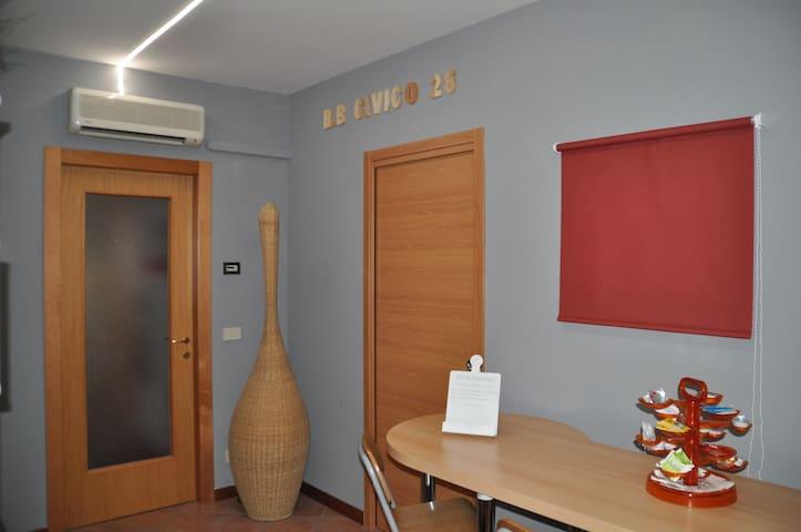 "B&B Civico2 (Website hidden by Airbnb) Camera Letto ""Venerdì"""