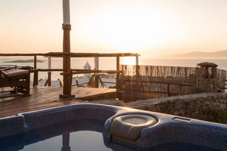 Cyan Blue Suite in Mykonos Town - Mykonos - Apartment