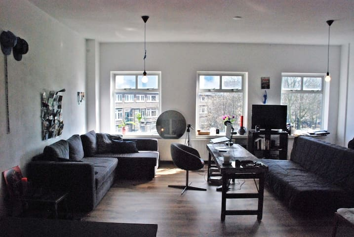 Studio flat with an amazing view - Rotterdam - Apartmen