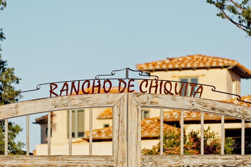 Welcome to Rancho Chiquita Malibu