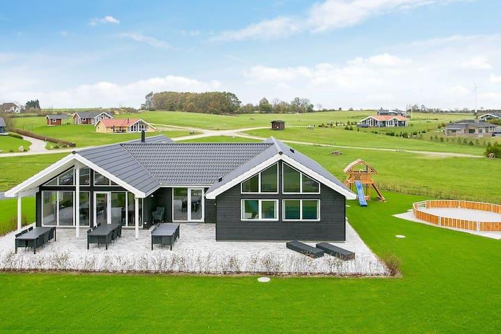 Casa de vacaciones moderna en Funen, cerca del mar