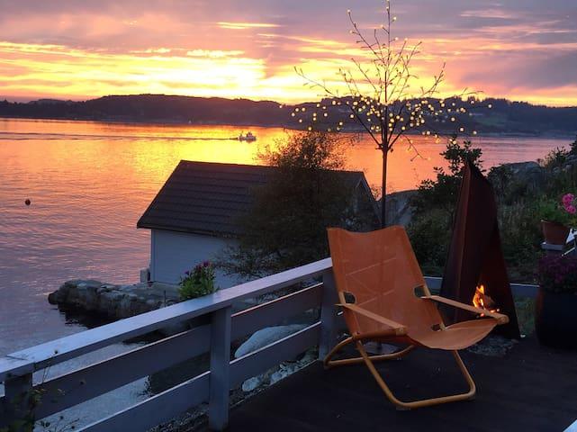 Nordic Fjord Paradise - Aksdal - Cottage