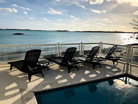Luxurious Beach Front House with Private Pool