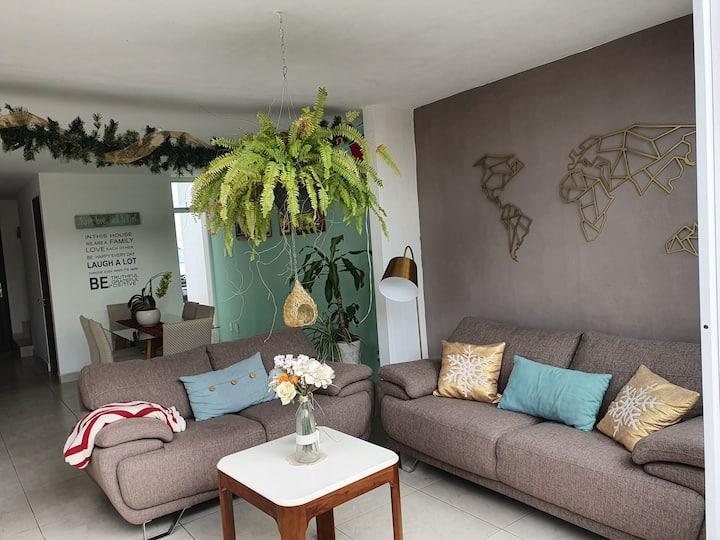 Hermosa habitacion con linda vista en Queretaro!!