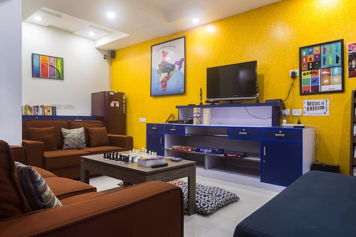 Stay in a true Delhi neighbourhood - Joey's Hostel - New Delhi - Makuusali