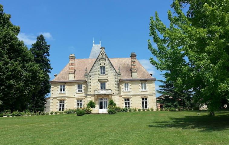 Château,piscine,tennis,10 personnes - Baleyssagues - Slot