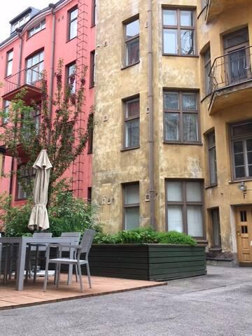 Peaceful studio apartment in respected area