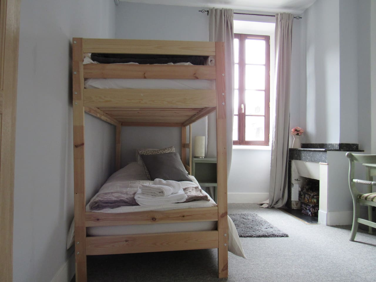 Full size bunk beds for kids over 12 yrs or 1 or 2 adventurous adults