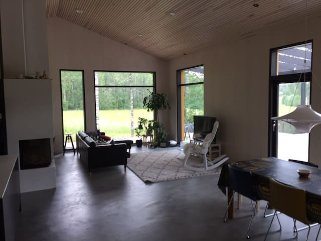 A room in Fiskars.