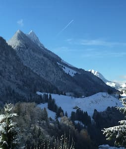 sur les hauteurs de CHARMEY - Val-de-Charmey