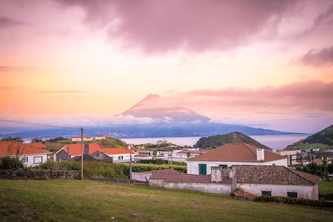 Amazing mountain view of Pico