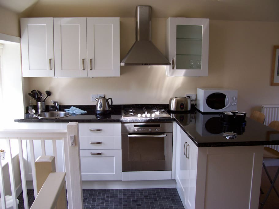 The self catering kitchen