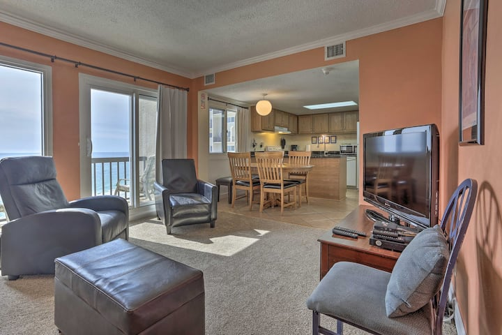 Oceanfront PCB Condo w/ 2 Balconies & Pool Access!