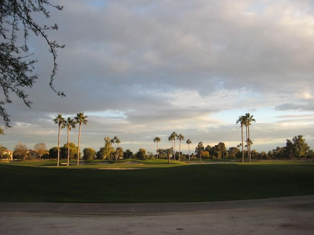 Private resort style community on the golf course