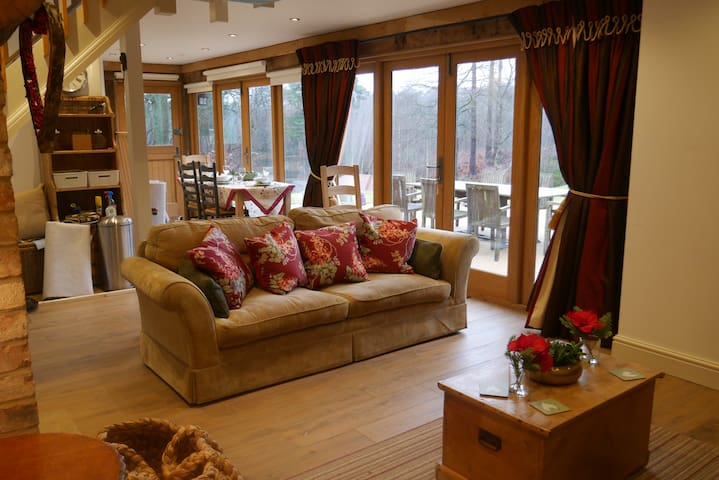 Luxury Cosy lodge In The Surrey Hills - Blackheath - Alpstuga