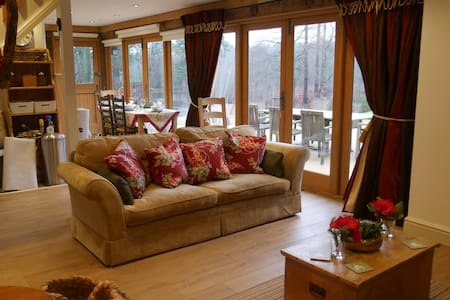 Luxury Cosy lodge In The Surrey Hills - Blackheath - Almhütte