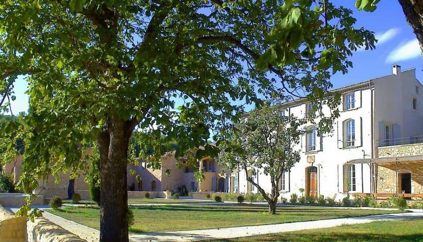 10 bd, terraces, gardens, fireplace - Simiane-la-Rotonde - Villa