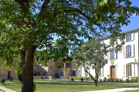 10 bd, terraces, gardens, fireplace - Simiane-la-Rotonde - วิลล่า