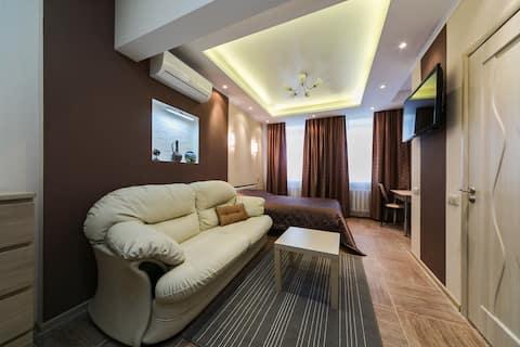 Modern apartment at Belorusskaya