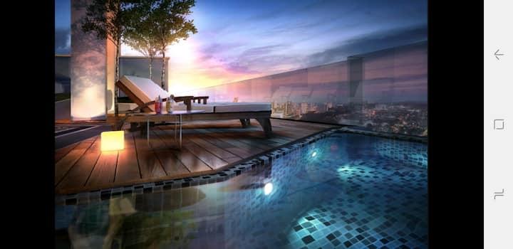Georgetown Macalister  Luxury Studio Suite 乔治城摩登套房