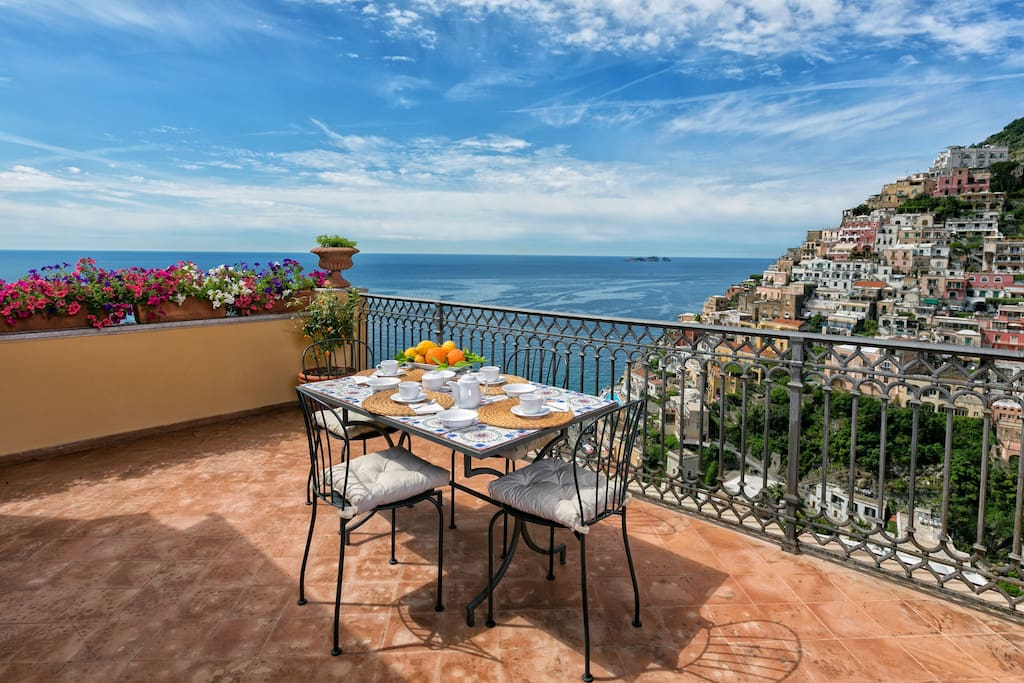 Best Positano private Terrace!