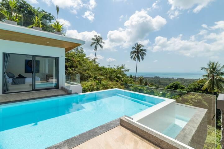 Villa Soleil 3BR Private Pool - Sea View