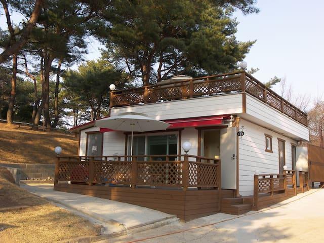 포천시 고모리 보물섬팬션 (사랑채) - Pocheon-si - Rumah