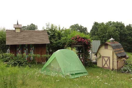 Tenting among Karenville's Magic - Ithaca