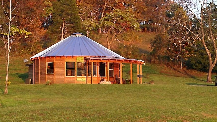 ⭐️Mongolian Yurt⭐️1100ft²⭐️Fire Pit⭐️Full Kitchen